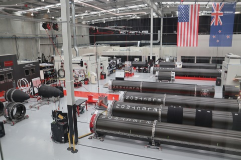 The Rocket Lab Production Complex that will house the new reaction wheel production facility (Photo: Business Wire)