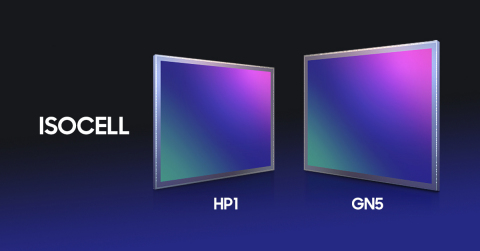 Samsung's newest ISOCELL image sensors, the HP1 and GN5. (Graphic: Business Wire)