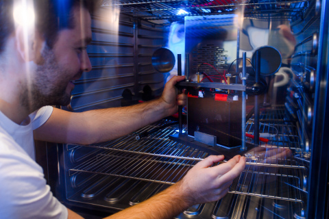 TWAICE Battery Testing Laboratory in Munich, Germany. Photo: TWAICE