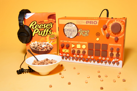 REESE'S PUFFS RP-FX and RP-PRO boxes lets fans create their own music. (Photo: Business Wire)