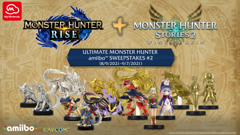 Enter for the chance to win an epic MONSTER HUNTER prize pack. (Graphic: Business Wire)