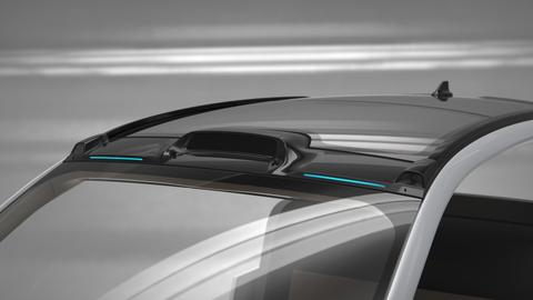 Inalfa's roof integration of Luminar's Iris (Photo: Business Wire)