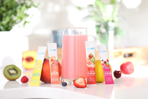 cbdMD adds new drink mixes to a robust offering of products. (Photo: Business Wire)