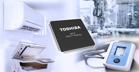 Toshiba: Arm Cortex-M4 Microcontrollers for Motor Control (Graphic: Business Wire)