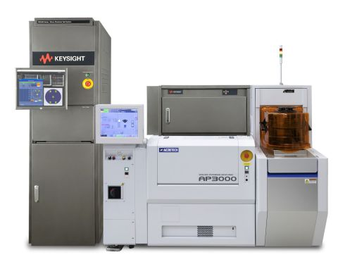 Keysight's NX5402A Silicon Photonics Test System with Accretech's AP3000 Wafer Prober. (Photo: Business Wire)