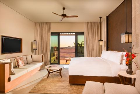 Alila Hinu Bay Terrace Guestroom (Photo: Business Wire)