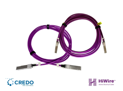 Credo's second generation Active Electrical Cable (AEC) LP SPAN family reduces power and increases reach up to 7m at 400G. (Photo: Business Wire)