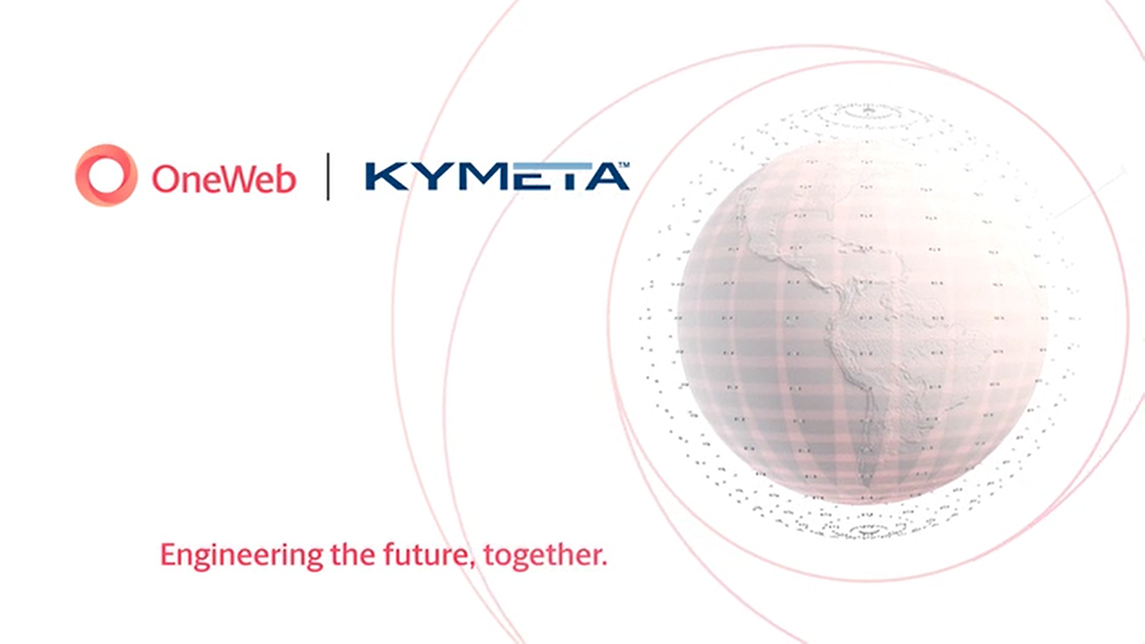 Kymeta and OneWeb Joint Engineering.