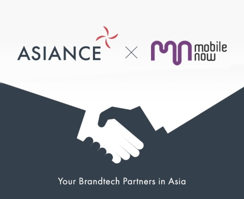 Asiance, a brand-tech company based in Seoul and Tokyo, and Mobile Now, a full-service mobile platforms agency based in Shanghai, have formed a strategic partnership agreement through the signature of a Memorandum of Understanding. (Graphic: Business Wire)