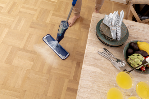Announcing the next generation Bona® Premium Spray Mop for Wood and Hard-Surface Floors. (Photo: Business Wire)