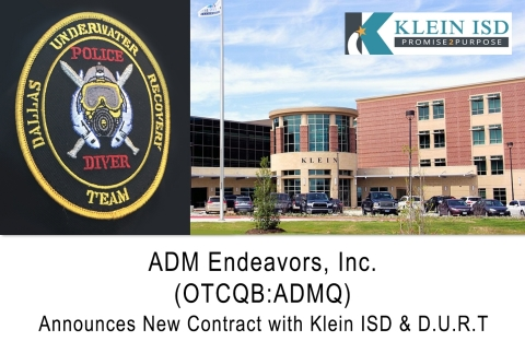 ADMQ New Contract with Klein ISD and D.U.R.T (Graphic: Business Wire)