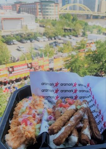 Pretzel Fries Served at Heinz Field. (Photo: Business Wire)