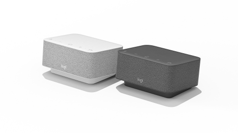 Logi Dock all-in-one docking station declutters the desktop and makes joining meetings easy (Photo: Business Wire)