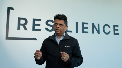 Rahul Singhvi, CEO of Resilience. (Photo: Business Wire)