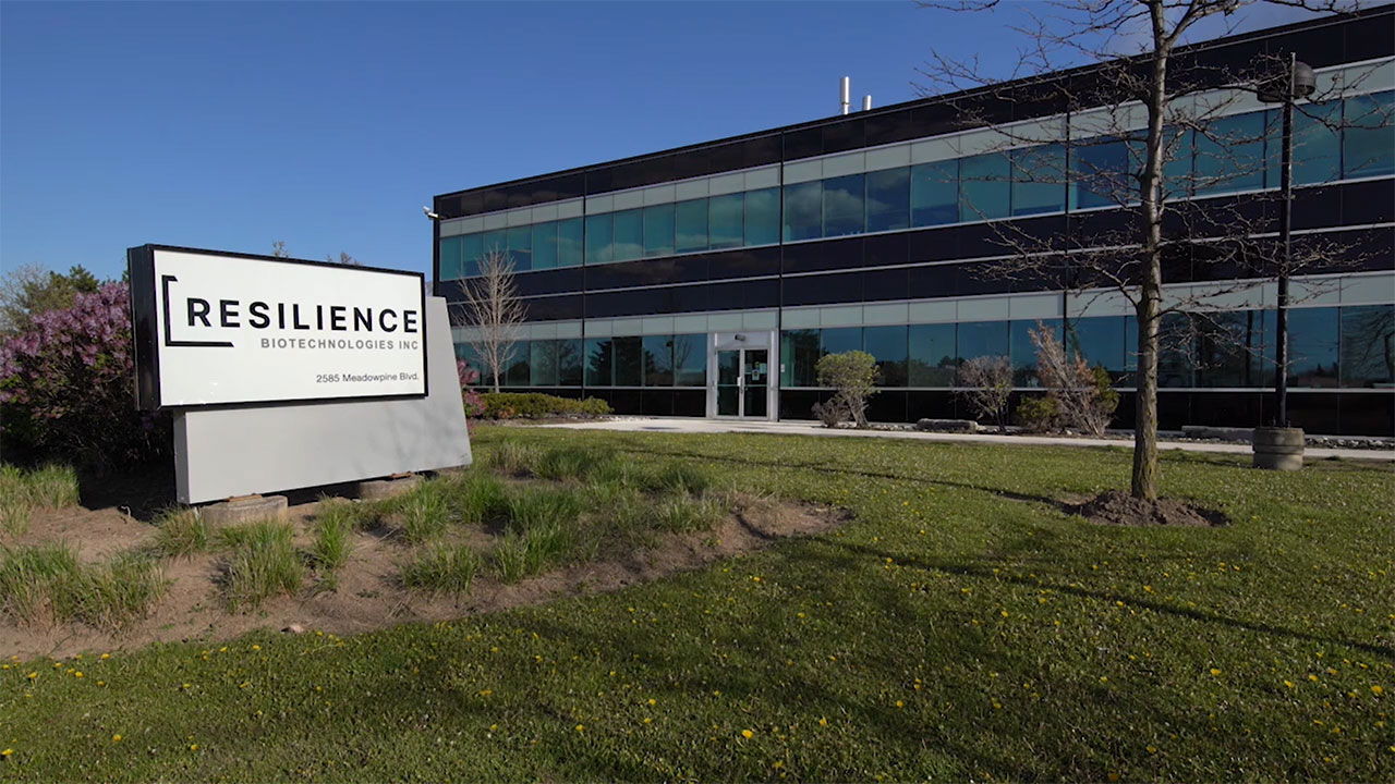 Resilience will manufacture mRNA for Moderna's COVID-19 Vaccine at its facility in Mississauga, Ontario, Canada. (Photo: Business Wire)