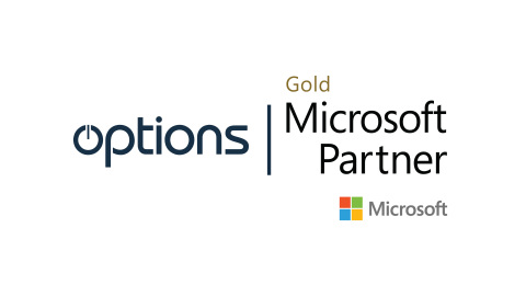 Options Announce Third Microsoft Gold Partner Status, with Addition of Small and Midmarket Cloud Solutions Competency (Graphic: Business Wire)