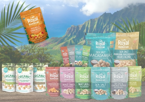 Royal Hawaiian Orchards introduces a new addition to their roasted collection of macadamia nuts. (Photo: Business Wire)