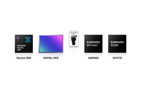 Samsung's Logic Chips with Carbon Trust Certification. (Photo: Business Wire)