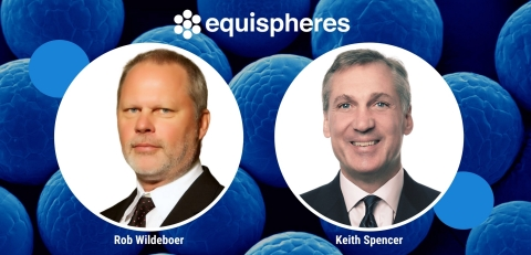 Equispheres announces the addition of Rob Wildeboer (left) and Keith Spencer (right) to their Board of Directors. Wildeboer and Spencer bring years of experience in the automotive industry and emerging technologies, demonstrating Equispheres' intention to increase market share in the automotive sector. Equispheres provides high-performance aluminum powders and applications engineering services for metal additive manufacturing, enabling faster production and lower part cost for automotive manufacturers. (Photo: Business Wire)