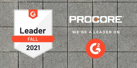 97% of construction project management G2 users rated Procore platform 4 or 5 stars out of 5. (Graphic: Business Wire)