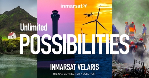 Velaris will provide secure communications for commercial UAVs – commonly known as drones – to seamlessly integrate with aircraft in commercial airspace (Graphic: Business Wire)
