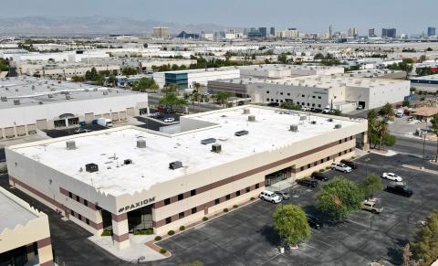 New Paxiom Las Vegas facility located near Las Vegas resort corridor & McCarran International Airport. (Photo: Business Wire)