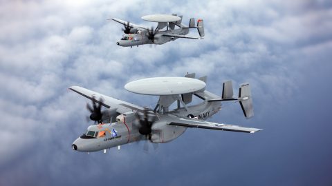 The AN/APX-122A IFF Interrogator system provides positive identification of friendly aircraft. (Photo: BAE Systems)