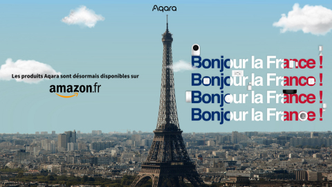 Les produits Aqara débarquent sur Amazon France (Photo: Business Wire)
