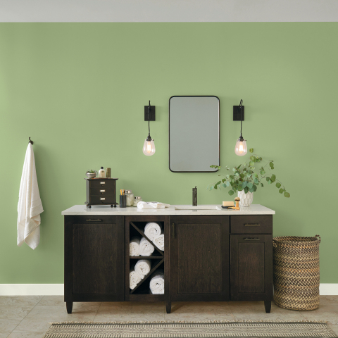GLIDDEN® paint by PPG took its green- and guac-loving affinity to a whole new level by announcing its hand-picked 2022 Color of the Year: Guacamole (PPG1121-5). (Photo: Business Wire)