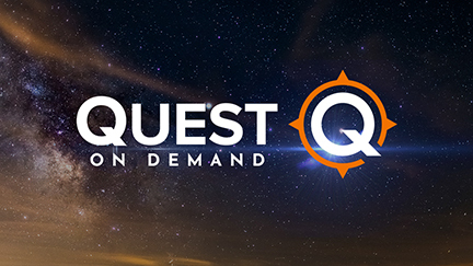 The Quest streaming app offers hundreds of hours of adventure programming about nature's greatest dangers, history's greatest mysteries and man's greatest achievements. (Graphic: Business Wire)
