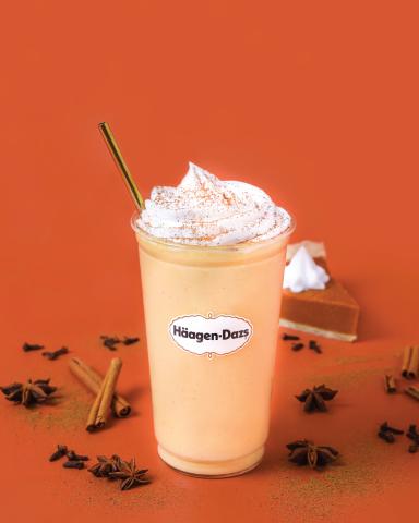 Häagen-Dazs Pumpkin Spice Shake (Photo: Business Wire)
