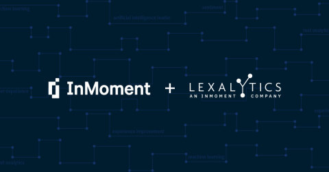 InMoment Completes Acquisition of Lexalytics, the Leader and Pioneer of Structured and Unstructured Data Analytics (Photo: Business Wire)