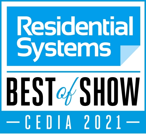 CEDIA Best of Show (Graphic: Business Wire)