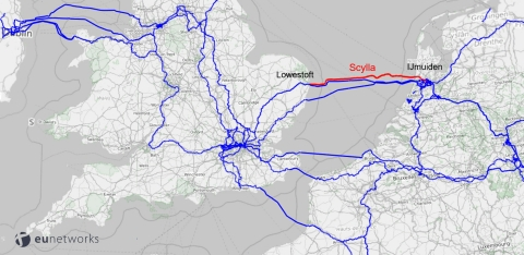 euNetworks Super Highway including Scylla (Photo: Business Wire)