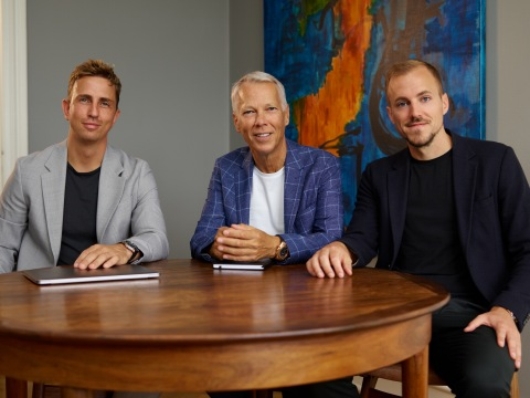 Andreas Cleve, Co-founder & CEO / Lars Marcher, Chairman of the Board / Lars Maaløe, Co-founder & CTO (Photo: Business Wire)