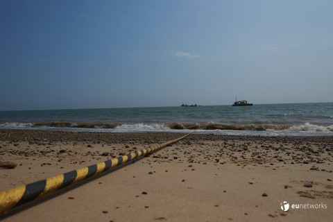 Cable pull at Lowestoft (Photo: Business Wire)