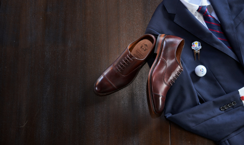 Allen Edmonds Teams Up with the PGA Of America to become 'The Official Dress Shoe of the U.S. Ryder Cup Team' (Photo: Business Wire)