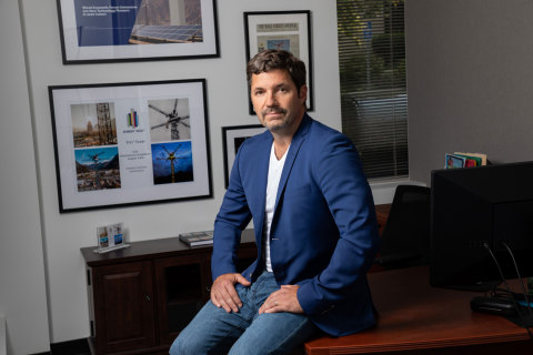 Energy Vault - CEO and Co-Founder - Robert Piconi (Photo: Alex J. Berliner/ABImages)