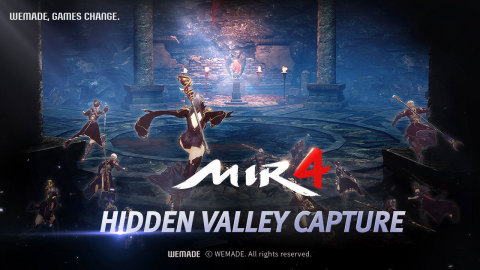 Wemade's MMORPG 'MIR4' has its first large-scale update. Additional content will be revealed, including the first global clan battle, Clan Challenge, and Solitude Training. On September 10, additional core content, Hidden Valley Capture, was released. The Hidden Valley Capture is a battle between different clans to control the source of the game's main resource, Darksteel. Darksteel can be smelted into the utility coin Draco and exchanged for the virtual asset Wemix tokens, which create a bridge between in-game resources and real assets. In addition, due to a rapid increase in the number of players, MIR4 added a new server region, South America. (Graphic: Business Wire)