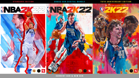 2K is excited to announce that NBA® 2K22, the next iteration of the top-rated NBA video game simulation series of the past 20 years**, is now available on both current- and new-generation platforms worldwide. With its release, NBA 2K22 offers best-in-class visual presentation and player AI, historic teams, and a wide variety of basketball experiences with online community features and deep, varied game modes. (Photo: Business Wire)