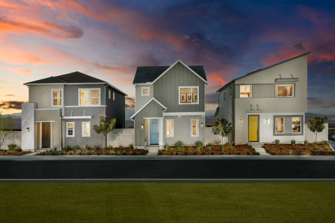 KB Home announces the grand opening of Clover, a new-home community situated in the highly desirable Valencia master plan. (Photo: Business Wire)
