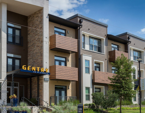 Gentry On M Streets, a 180-unit multifamily community in Dallas, TX. (Photo: Business Wire)