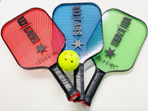Azul 3D has partnered with Wilson Sporting Goods to create two new 3D-printed pickleball paddle designs that will change the way the sport is played. (Photo: Business Wire)