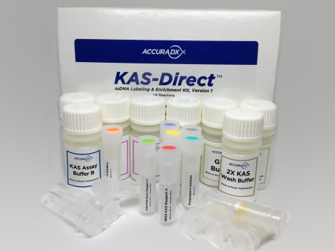 The KAS-Direct™ ssDNA Labeling and Enrichment Kit, Version 1. (Image credit: AccuraDX)