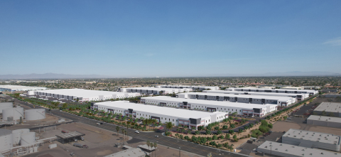 CapRock Partners is developing CapRock West 202 Logistics, a new 3.4-million-square-foot Class A industrial warehouse complex within the city of Phoenix. (Photo: Business Wire)