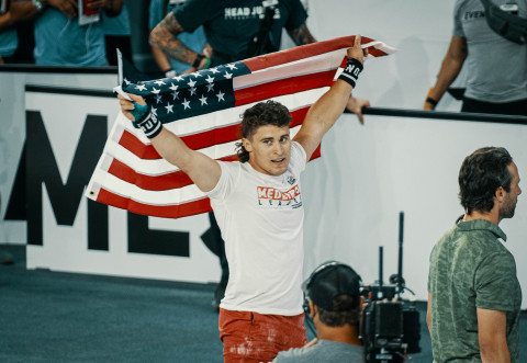2021 CrossFit Games Champion, Justin Medeiros (Photo: Business Wire)