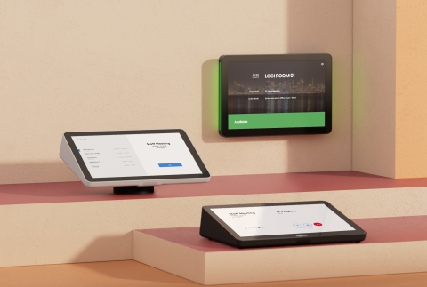 Tap IP and Tap Scheduler, created to help make scheduling and joining video meetings easy as many hybrid workers return to the office. (Photo: Business Wire)