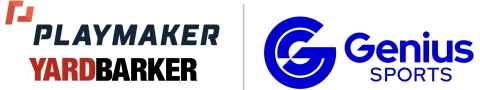 Playmaker selects Genius Sports to supercharge Yardbarker's relationships with leading sportsbooks. (Graphic: Business Wire)
