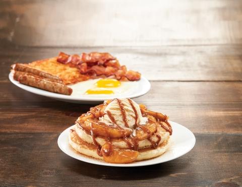 Caramel Apple a la Mode Pancake, created by Kid Chef Winner, Rayaan (Photo: Business Wire)