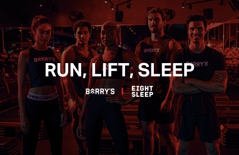 Eight Sleep Named Official Sleep Fitness Partner of Barry's (Graphic: Business Wire)